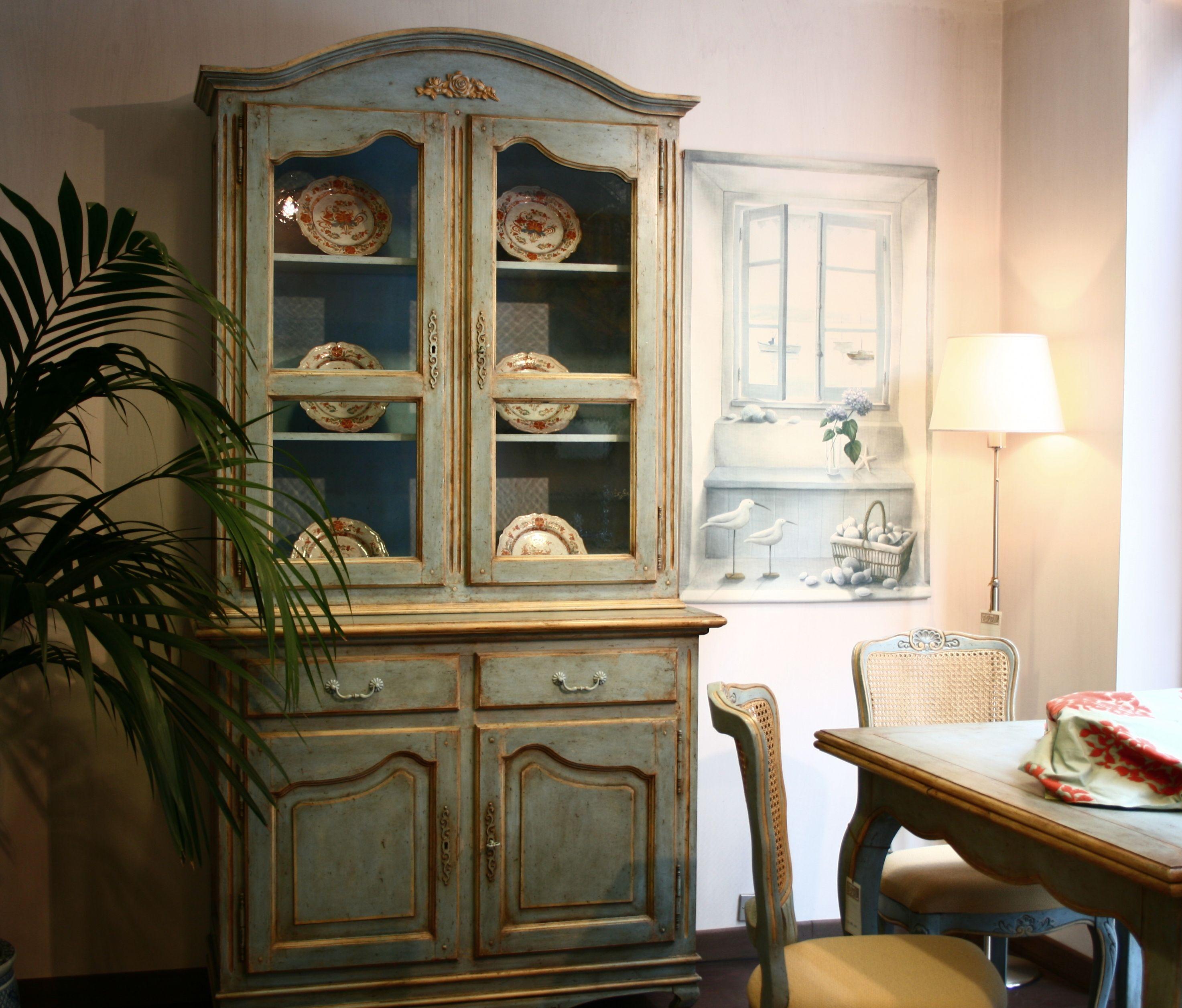 Mobile credenza in stile provenzale mobili pinterest for Arredamento stile provenzale