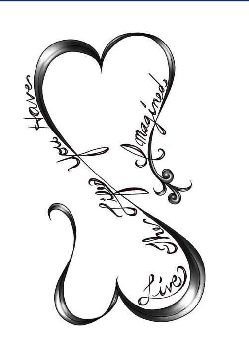 Infinity Heart Tattoos Pinterest Tattoos Tattoo Designs Und