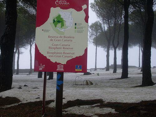 Reserva de la biosfera de Gran Canaria.