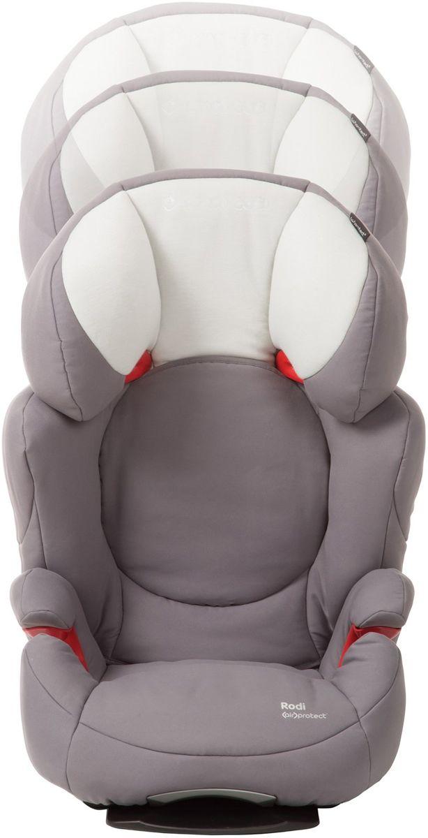Maxi Cosi Rodi Airprotect Booster Car Seat Steel Grey Booster Car Seat Car Seats Booster Car