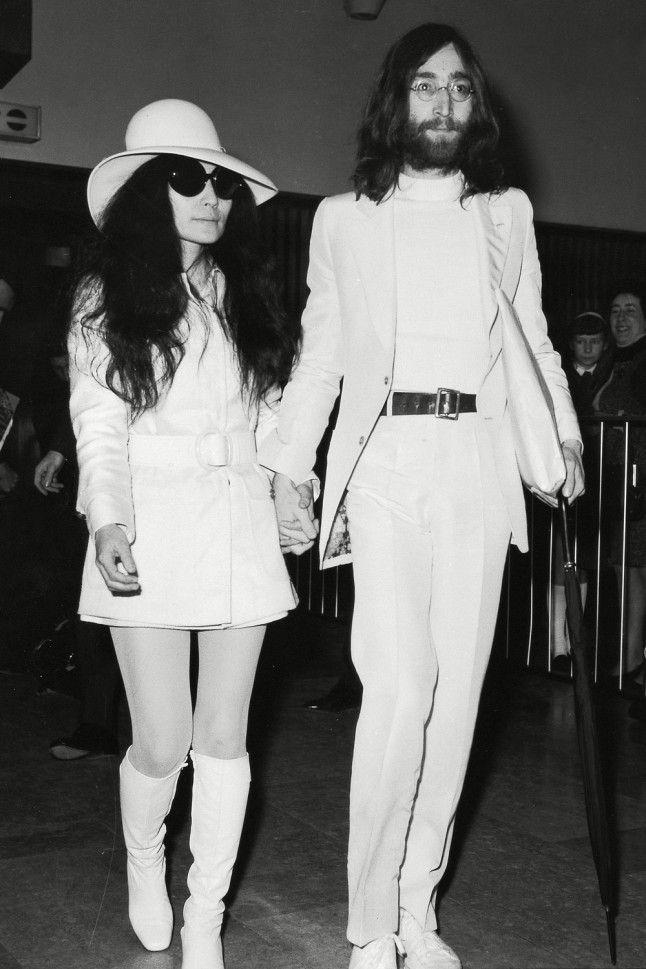 de1a95a5 From her private wedding, to one of the most defining moments of the 60s -  the John Lennon and Yoko Ono bed-in – the petite artist ...