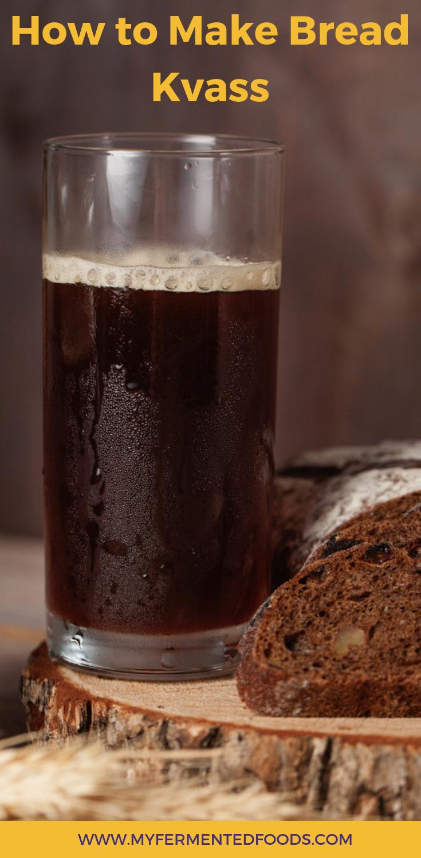 Bread kvass home: a recipe for health