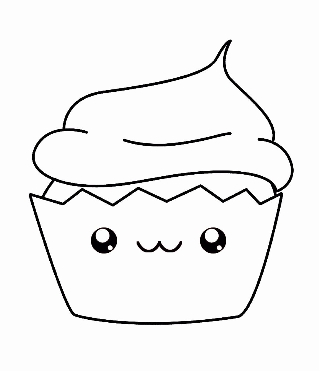 Cute Kawaii Animal Coloring Pages Lovely 59 No Trouble Cute Cupcakes Coloring Pages With Faces In 2020 Cupcake Coloring Pages Disney Coloring Pages Cute Coloring Pages