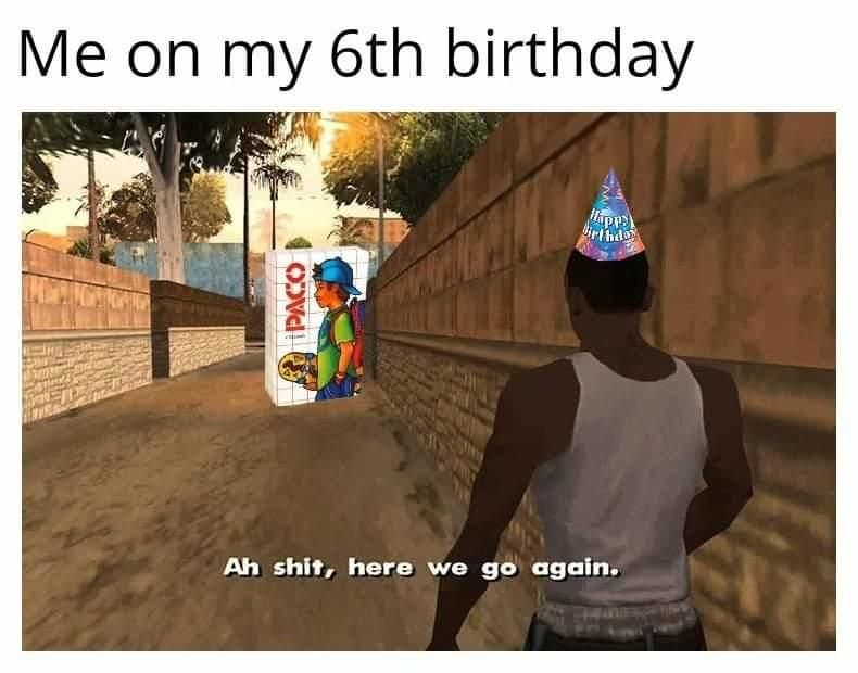 Me On My 6th Birthday Paco With Images Know Your Meme Memes
