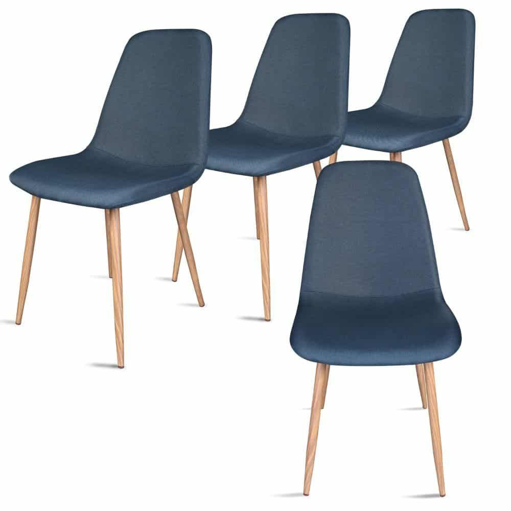 Top 10 Best Metal Dining Chairs In 2020 Compare Of The Best Metal Dining Chairs Dining Chairs Fabric Dining Room Chairs