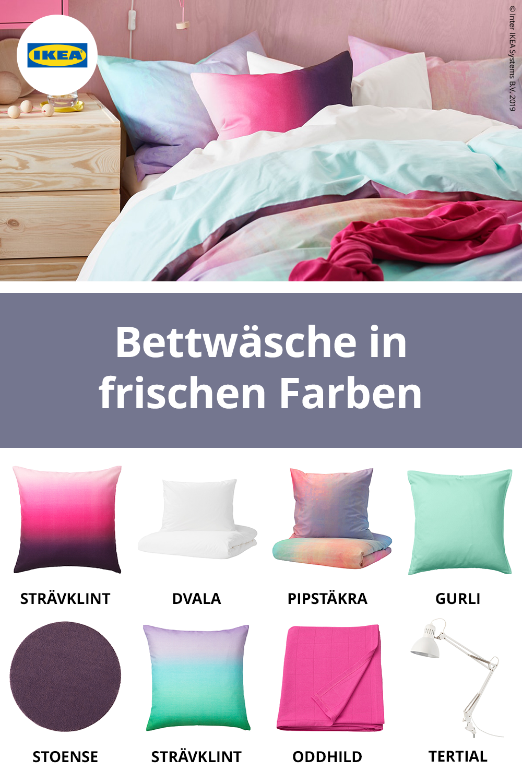 Ikea Deutschland Unsere Neuen Schlafzimmer Textilien Kommen Mit