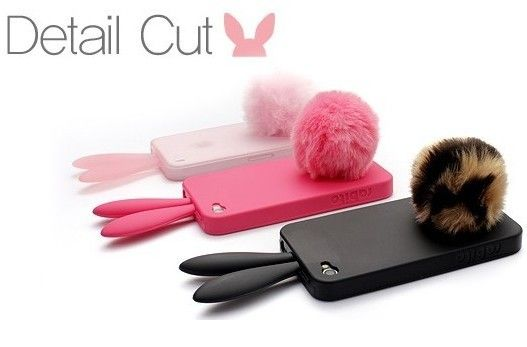 Fashion Lovely Bunny Rabbit iPhone 4 Silicone Case for iPhone 4/4S