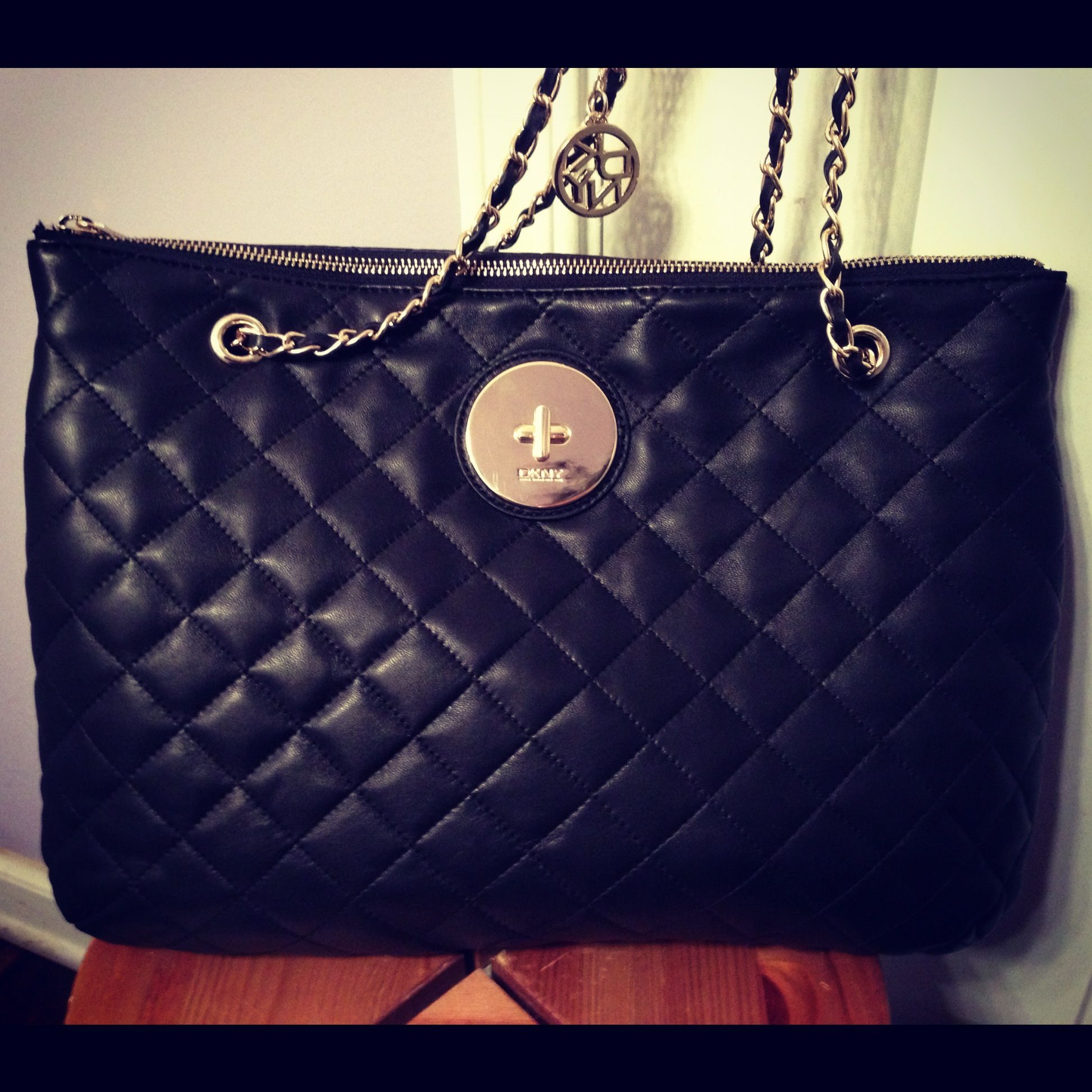 dkny quilted black bag. <3 <3 <3 | Accessorize | Pinterest | Bag ... : dkny black quilted handbag - Adamdwight.com