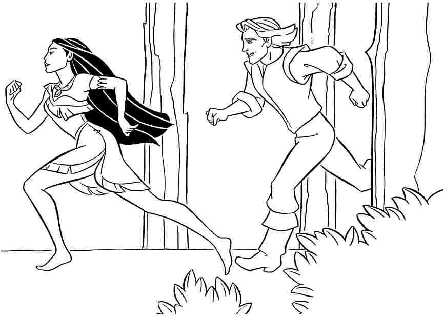 Pin by Elizabeth McGehee on Disney Pocahontas Coloring Pages Disney ...