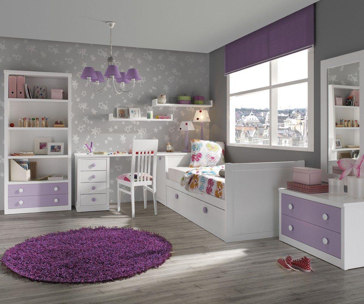 Malva lavanda y lila dormitorios casas pinterest for Decoracion dormitorios juveniles pintura