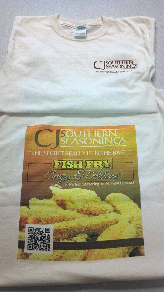 Our famous t shirts. The picture alone will make you hungry.