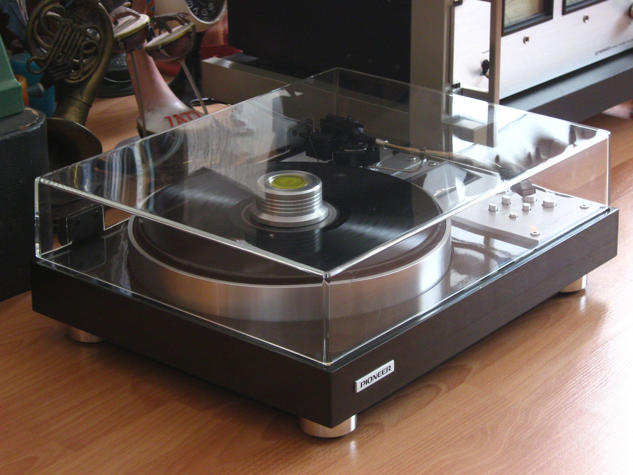 Record Player Tools Pioneer Plc 590 Turntable