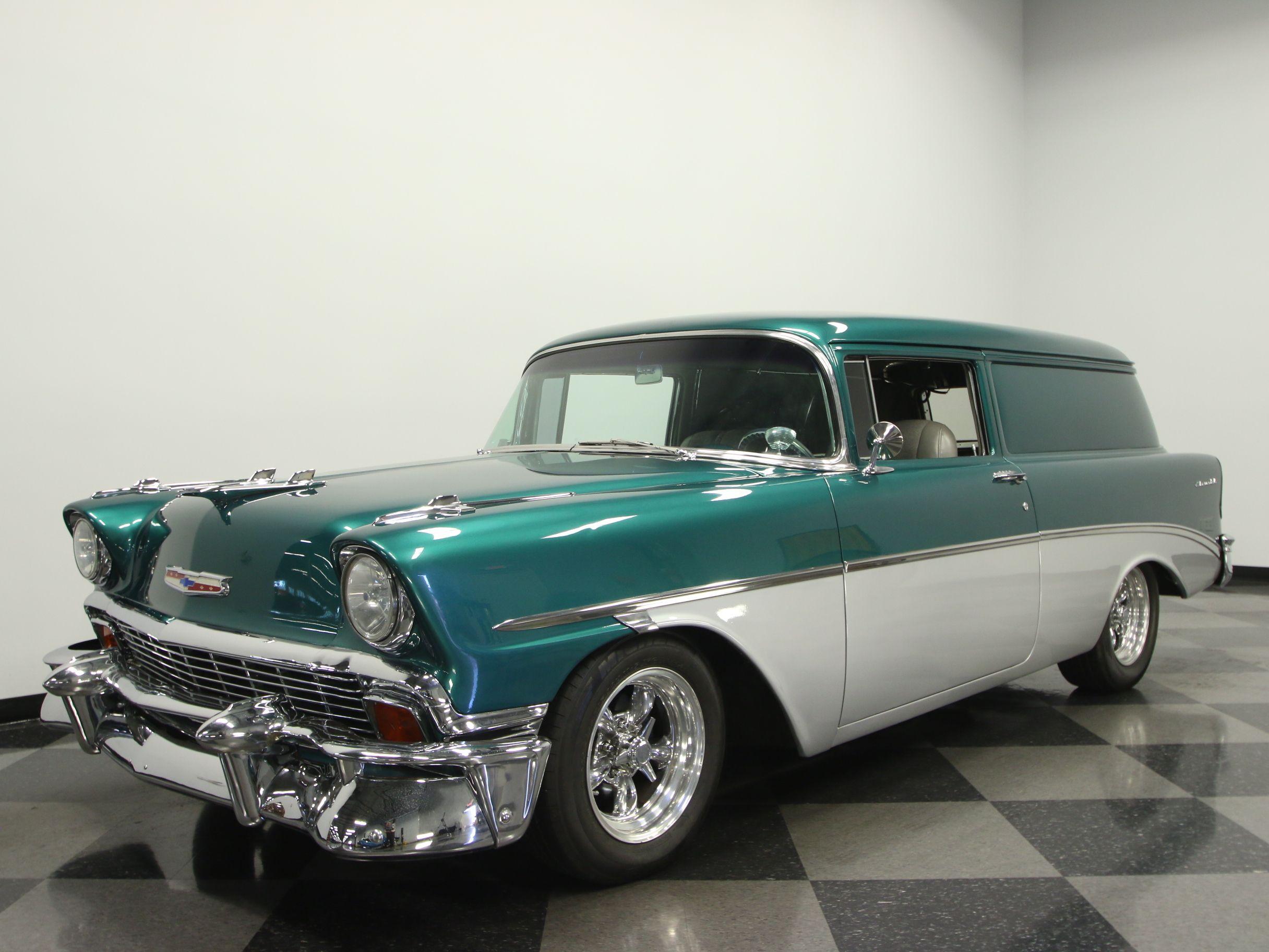 1956 Chevrolet 210 Sedan Delivery   Streetside Classics - The ...