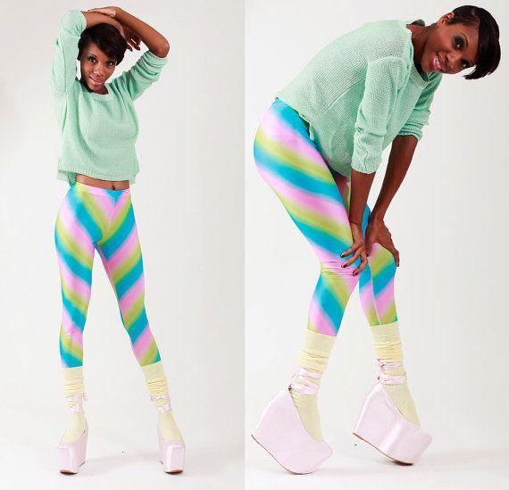 Cotton Candy Women Leggings by devowevoshop