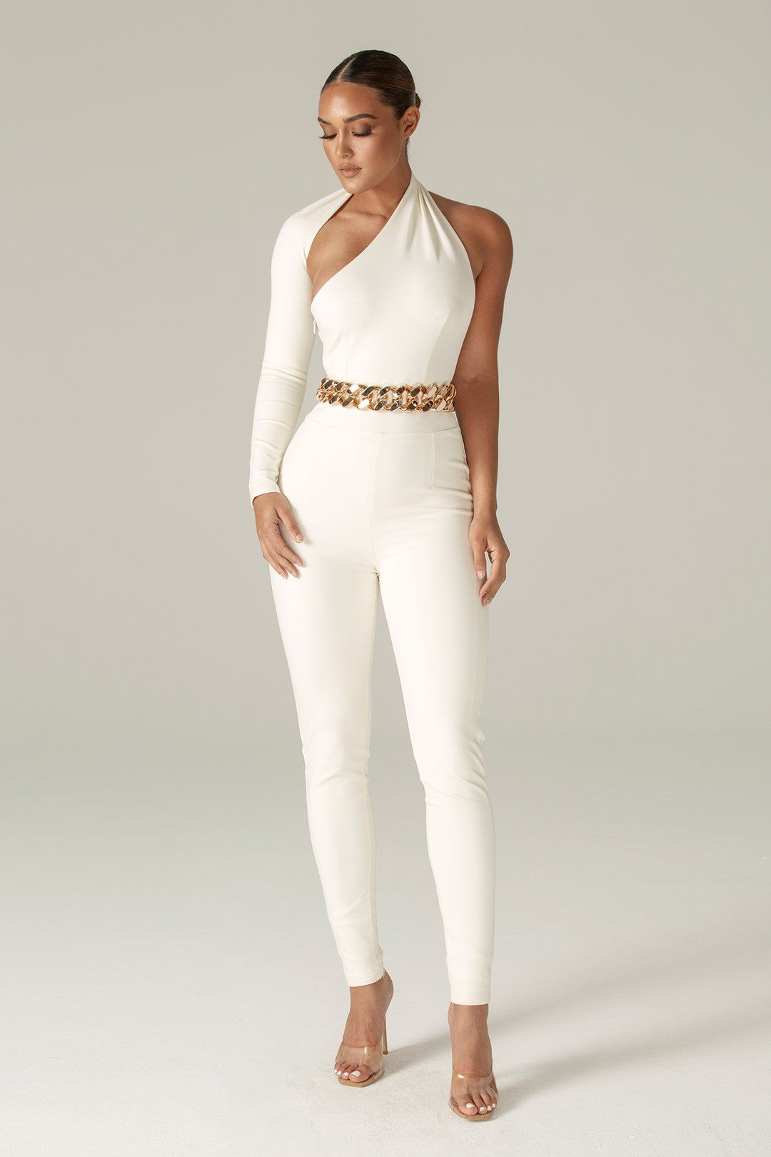 Dariya Modern Jumpsuit (Ivory)