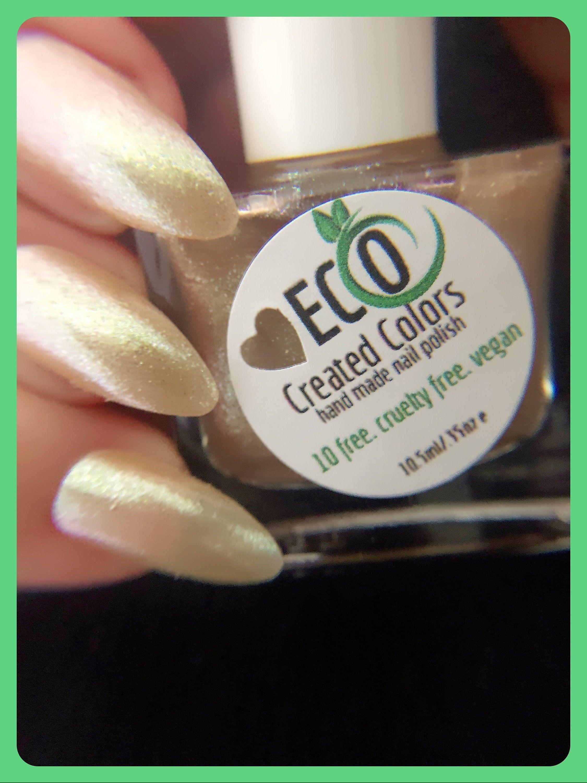 Gold Shimmer Nail Polish Gold Glitter Nail Lacquer Holiday Etsy Nail Shimmer Nail Polish Shimmer Nail Polish