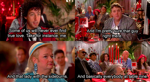 The Wedding Singer Love This Movie Part Funny