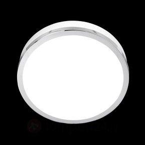 Eenvoudige LED plafondlamp Flush chroom IP44, 23cm 8570562 ...