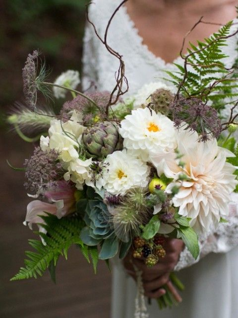 70 Unique Woodland Wedding Bouquets | HappyWedd.com