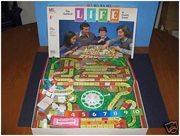 The Game Of Life Spent Hours At Judy S Playing This Delightful Game