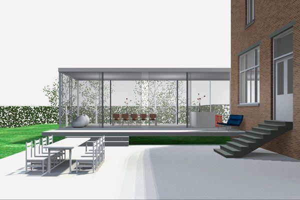 Glazen uitbouw google zoeken uitbouw pinterest for Glazen uitbouw