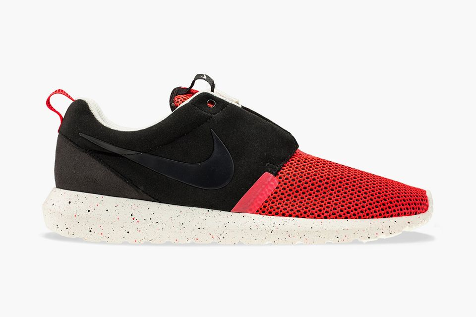 mens nike roshe one casual shoes gym red\/white\/black basketball