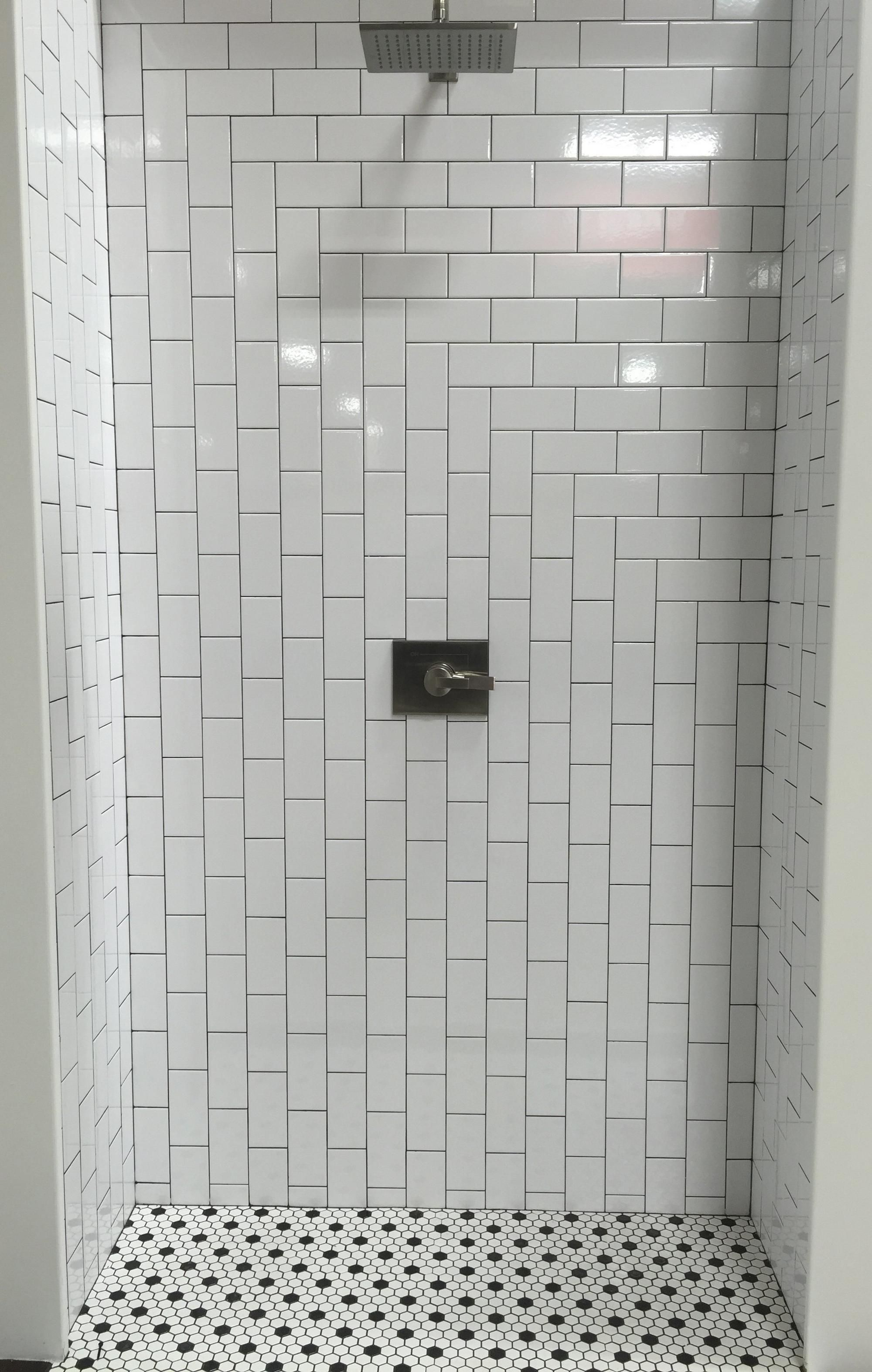 Bright White Ice Subway Ceramic Wall Tile Floor Decor Bathroom Wall Tile Tile Bathroom Shower Tile Designs