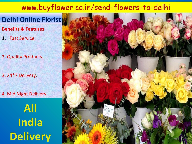 Delhi Online Florist Help To Send Flowers To Delhi
