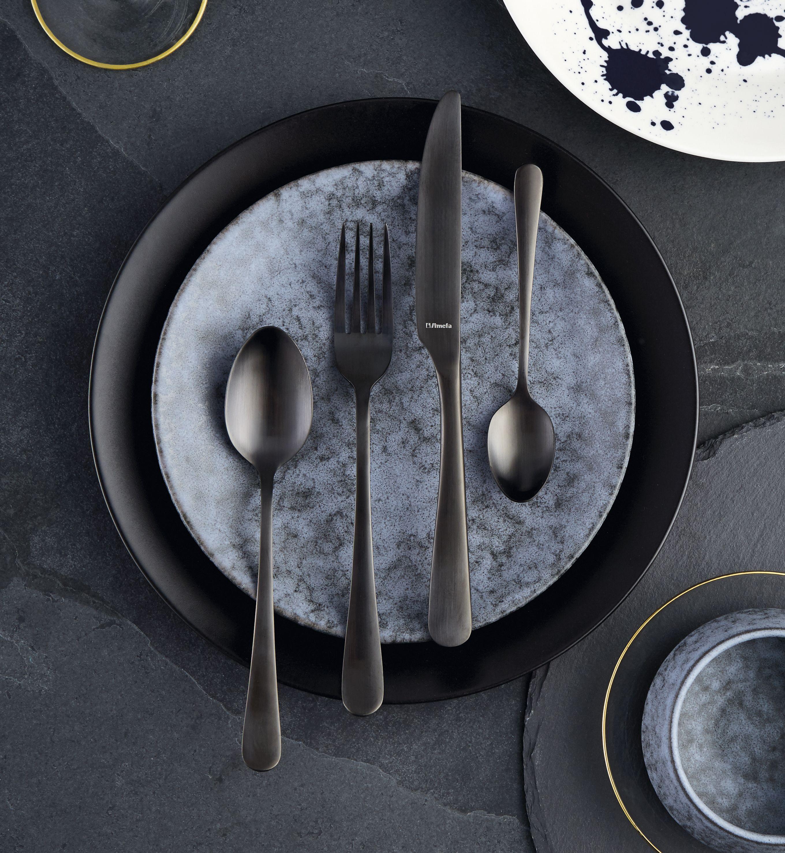 Midnight Cutlery Scandinavian table, Cutlery set