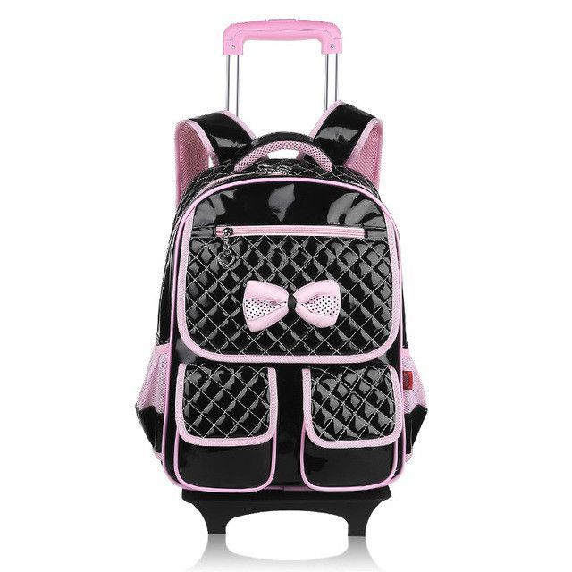 9a9c9bbaf0e Hello kitty school bags for girls rolling children backpack travel trolley  bag school backpacks wheels bolsas mochilas femininas   rider wheels    Pinterest ...