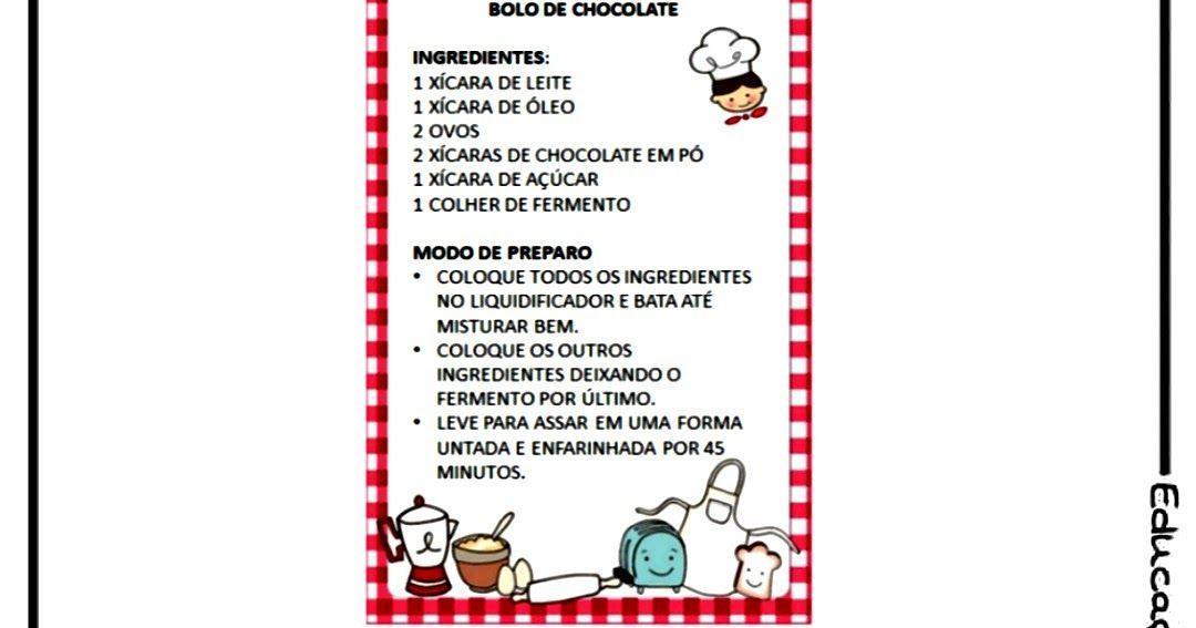 Lingua Portuguesa Receita E Convite Atividade Com Os Generos Textuais Receita E Convite Citacoes De Celebridades Atividades De Genero Dia Da Escola