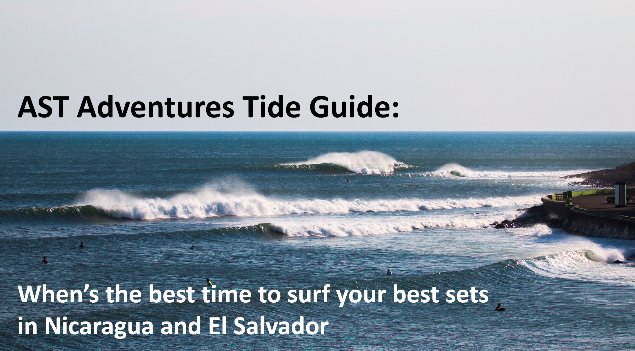 Best Time To Surf Central America By Tide And By Wave In El Salvador