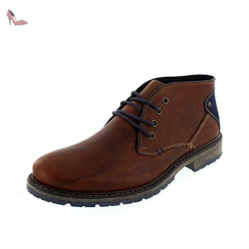 RIEKER Chaussures Hommes 38120 25 brown, Taille:EUR 43