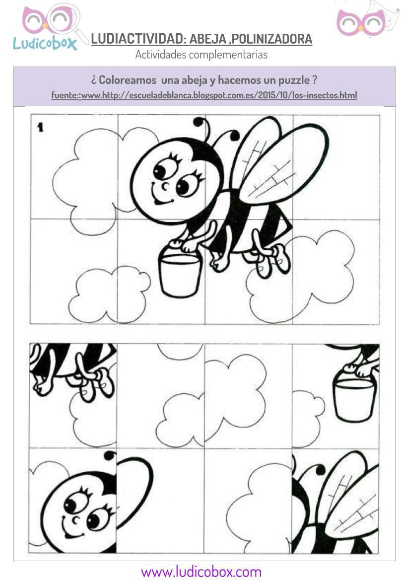 Polinización de las abejas: actividades para niños | Actividades ...