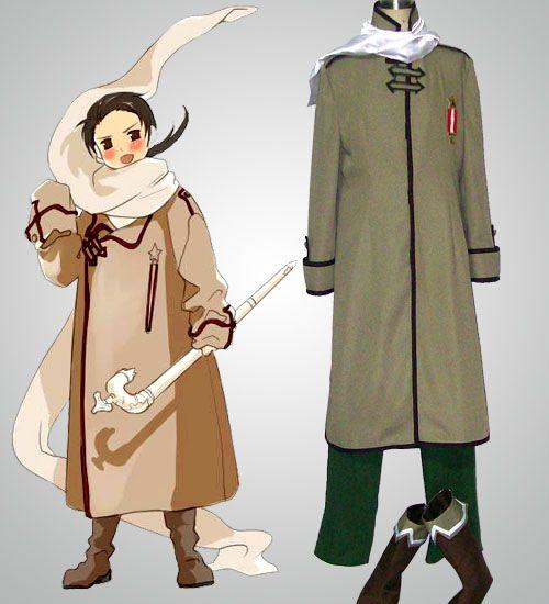 Hetalia Russia Axis Power Cosplay Halloween Costume Discount For ...