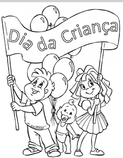 30 Desenhos Do Dia Das Criancas Para Colorir Pintar Imprimir