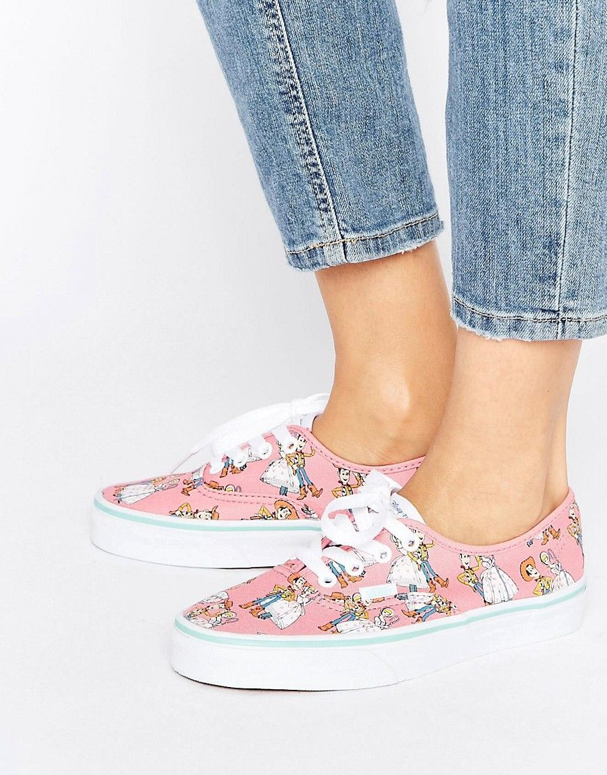 2vans mujer toy story