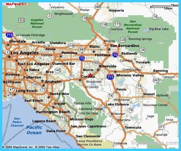 Map Of Riverside California Riverside California Riverside
