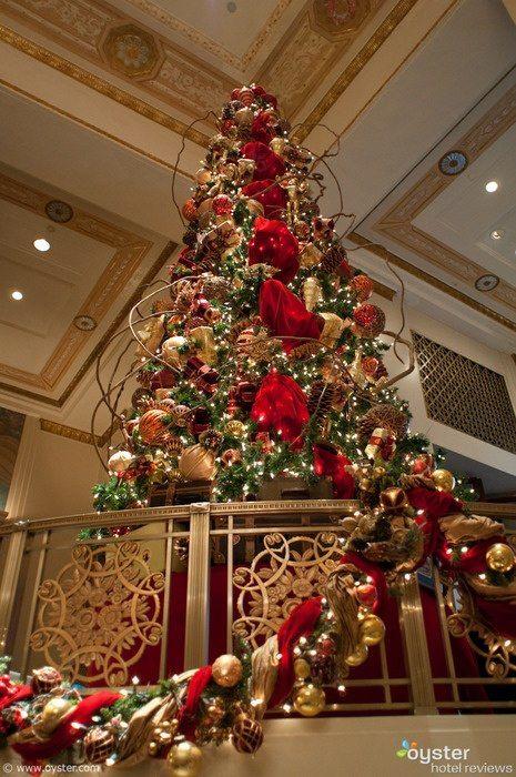 New York hotels deck their halls for Christmas   Christmas ...