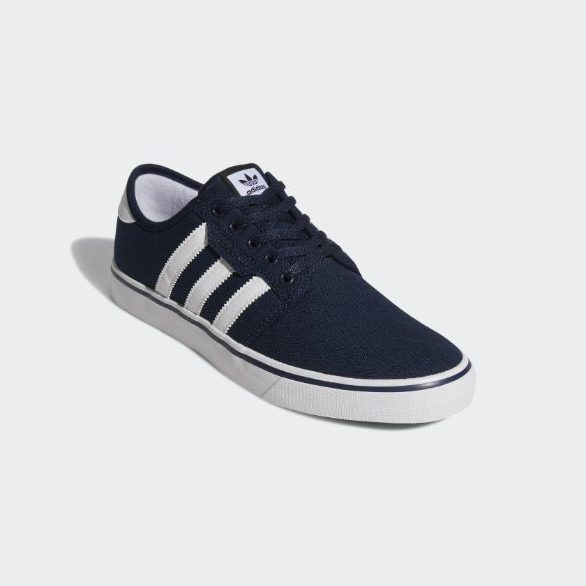 adidas Seeley Shoes - Blue | adidas US | Blue shoes, Shoes, Blue ...