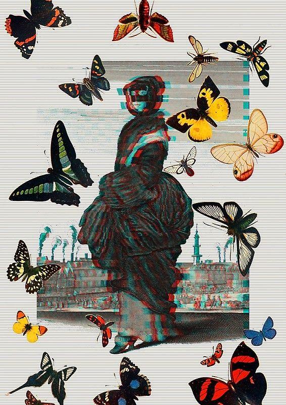 Masked Woman Spiral Notebook  ~Wild Roots Art~