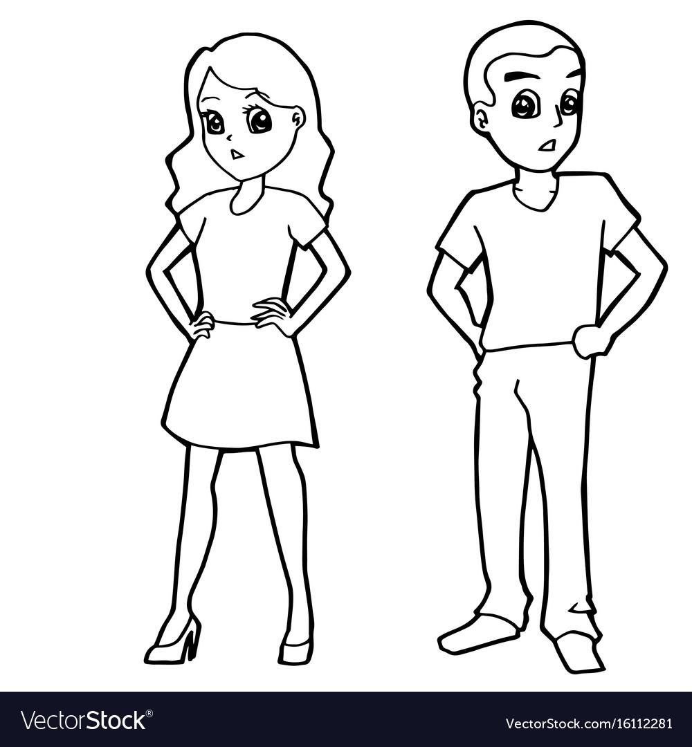 8 Coloring Page Boy And Girl Coloring Pages Coloring Pages For Girls Printable Coloring