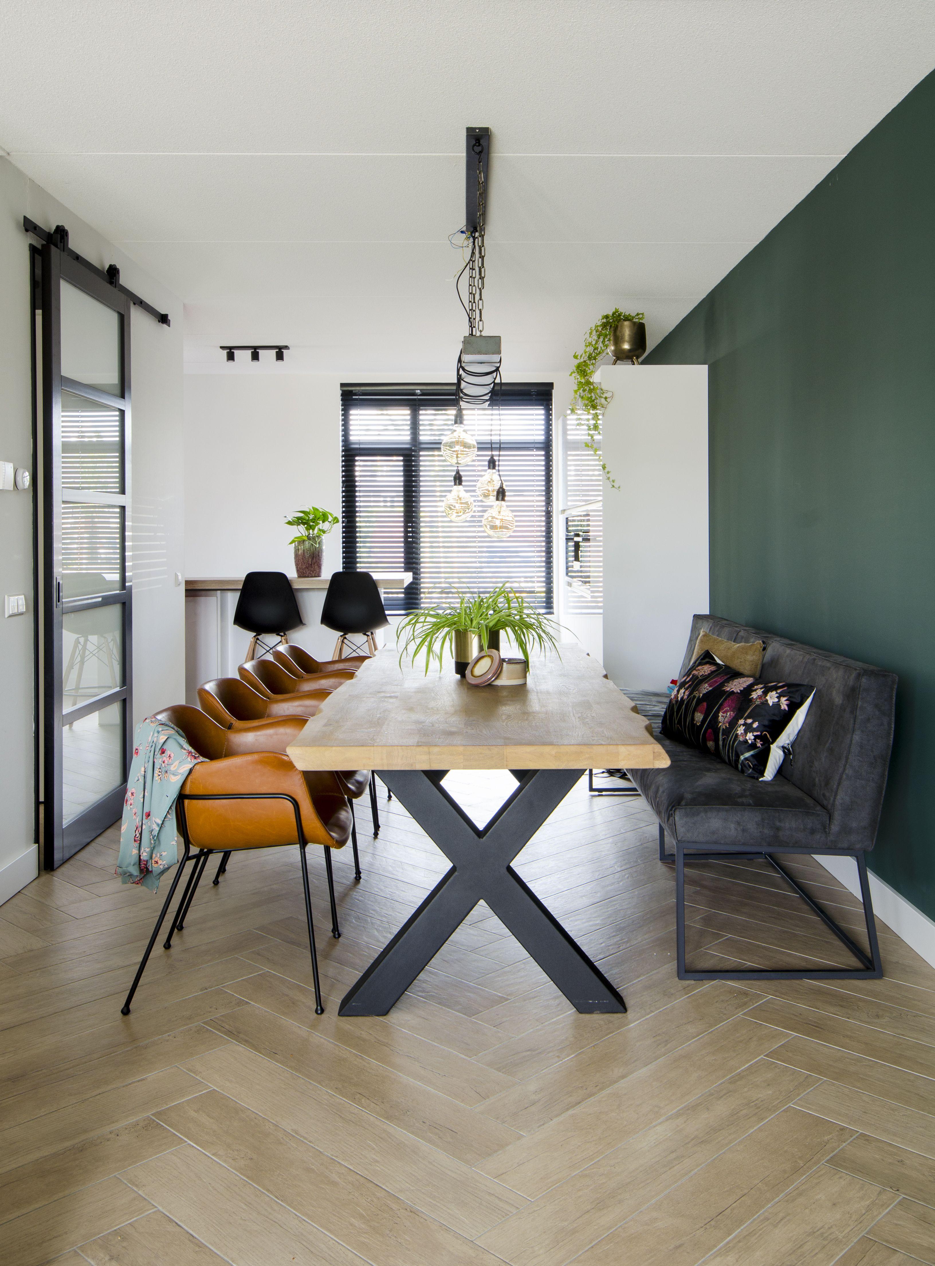 woonkamer binnenkijker interieur inspiratie eetkamer