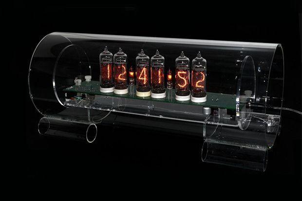 Cold War Creations Nixie Clock Nixie Tube Clock Large Clock