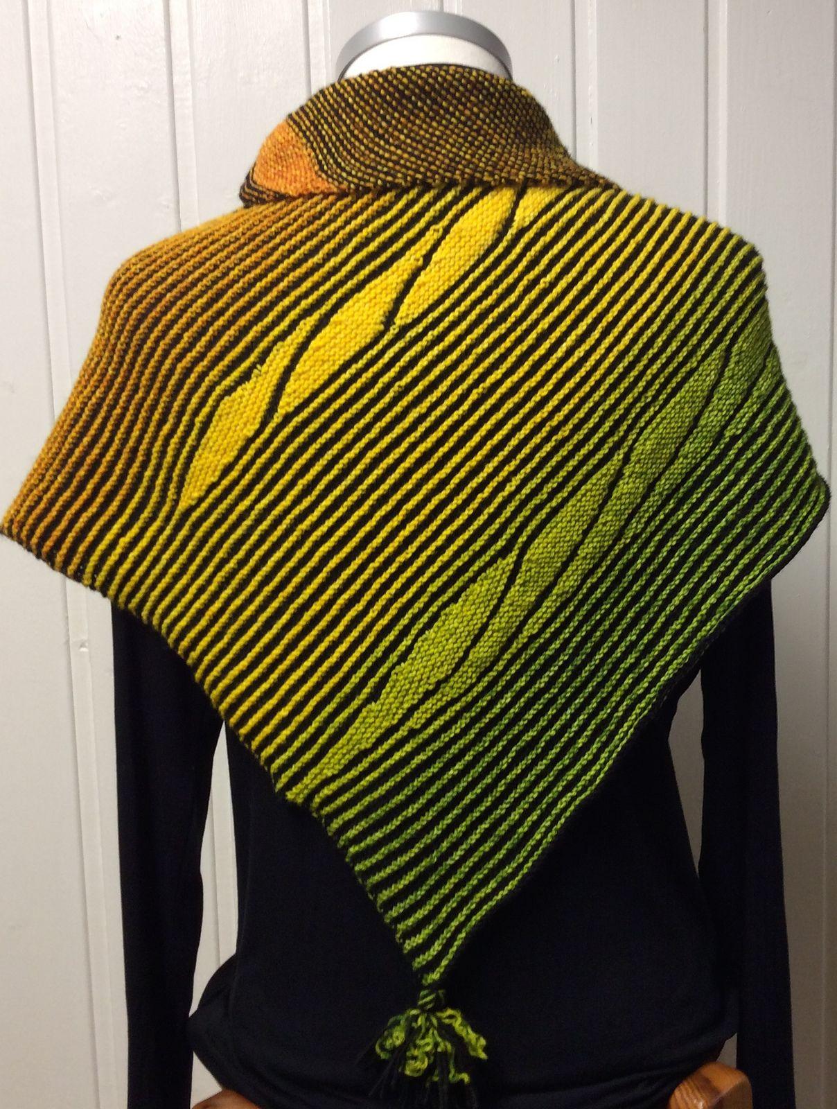Steine Im Flussbett Knit Scarf Yarn Inspiration Knitted Shawls