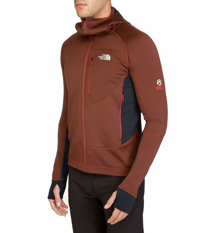 5ea91685e The North Face Men Granular hooded fleece jacket Asphalt Grey ...