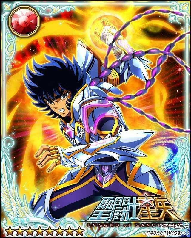 Phoenix Ikki 2 Galaxy Cards version Saint Seiya Legend of Sanctuary