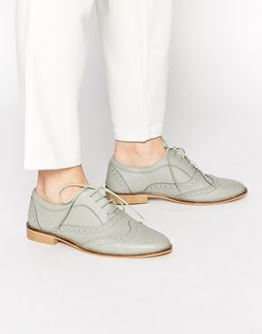 ASOS MILLION DOLLAR Lace up Leather Brogues  Shoes Heels WedgesWomen