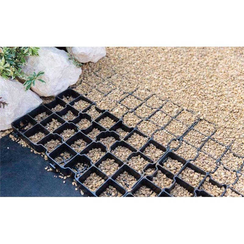 Gravel Pave System 1sq M Pack Garden Stones Gravel Stones