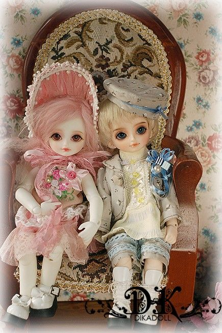 Abby, 26cm Dika Doll - BJD Dolls, Accessories - Alice's Collections